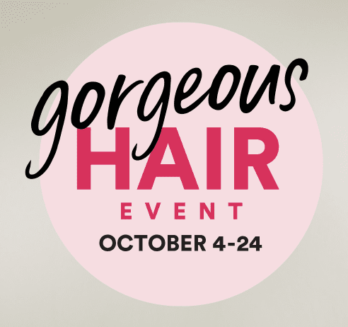 Ulta: Gorgeous Hair event!