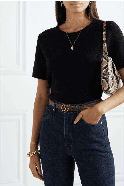 Net-A-Porter UK: Gucci Leather Belt for £250