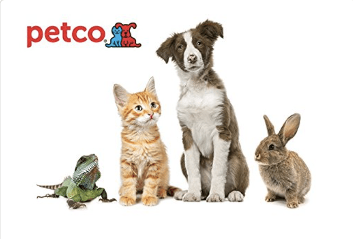 Amazon:  value Petco gift Card for