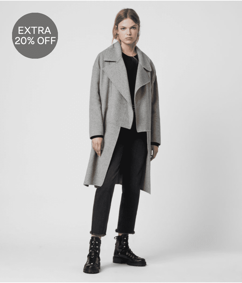 AllSaints: Extra 20% off on select sale styles