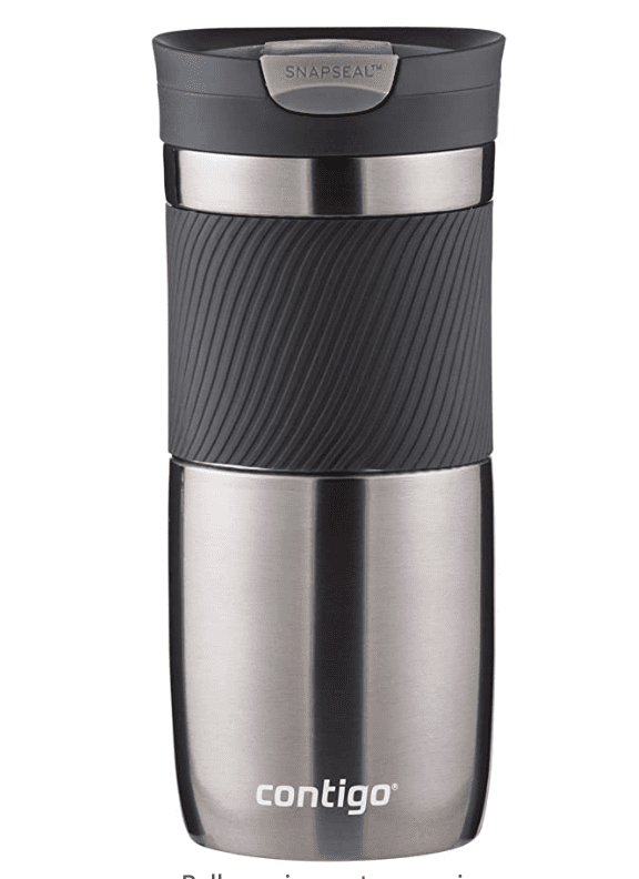 Contigo Vacuum-Insulated Stainless Steel Travel Mug for .99