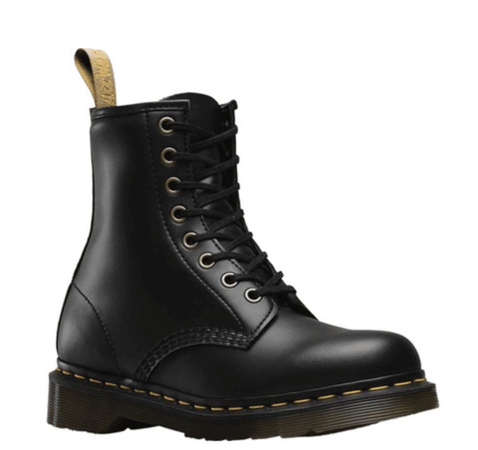 Dr. Martens Black Felix Rub off vegan boots for 9
