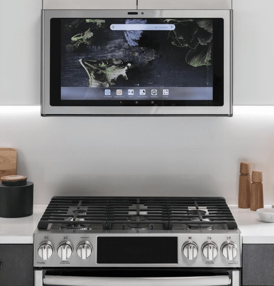 GE Profile Kitchen Hub Range Hood for 8.