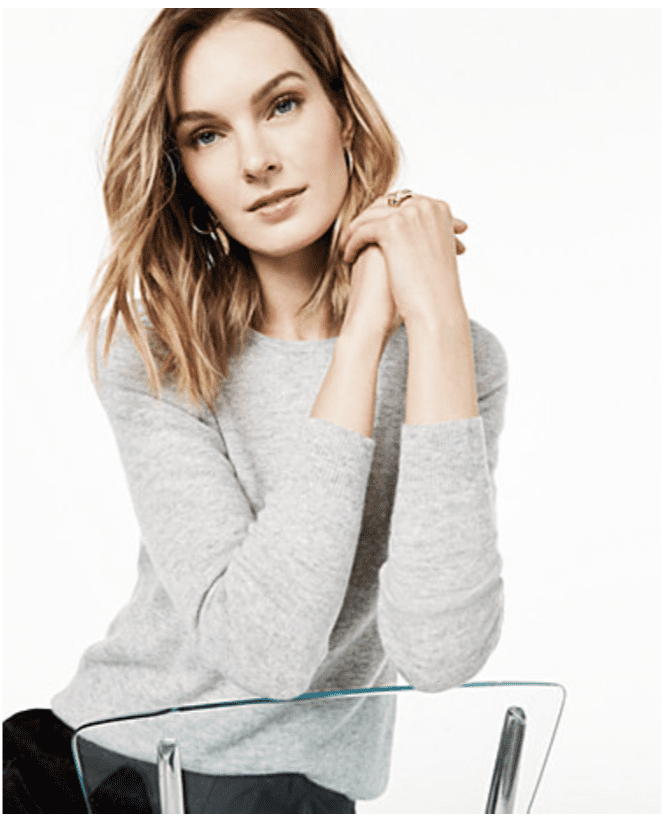 Macy's: Charter Club Cashmere Sweater for .99