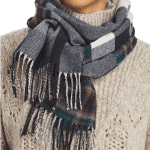 Burberry Plaid Wool Reversible Scarf $199