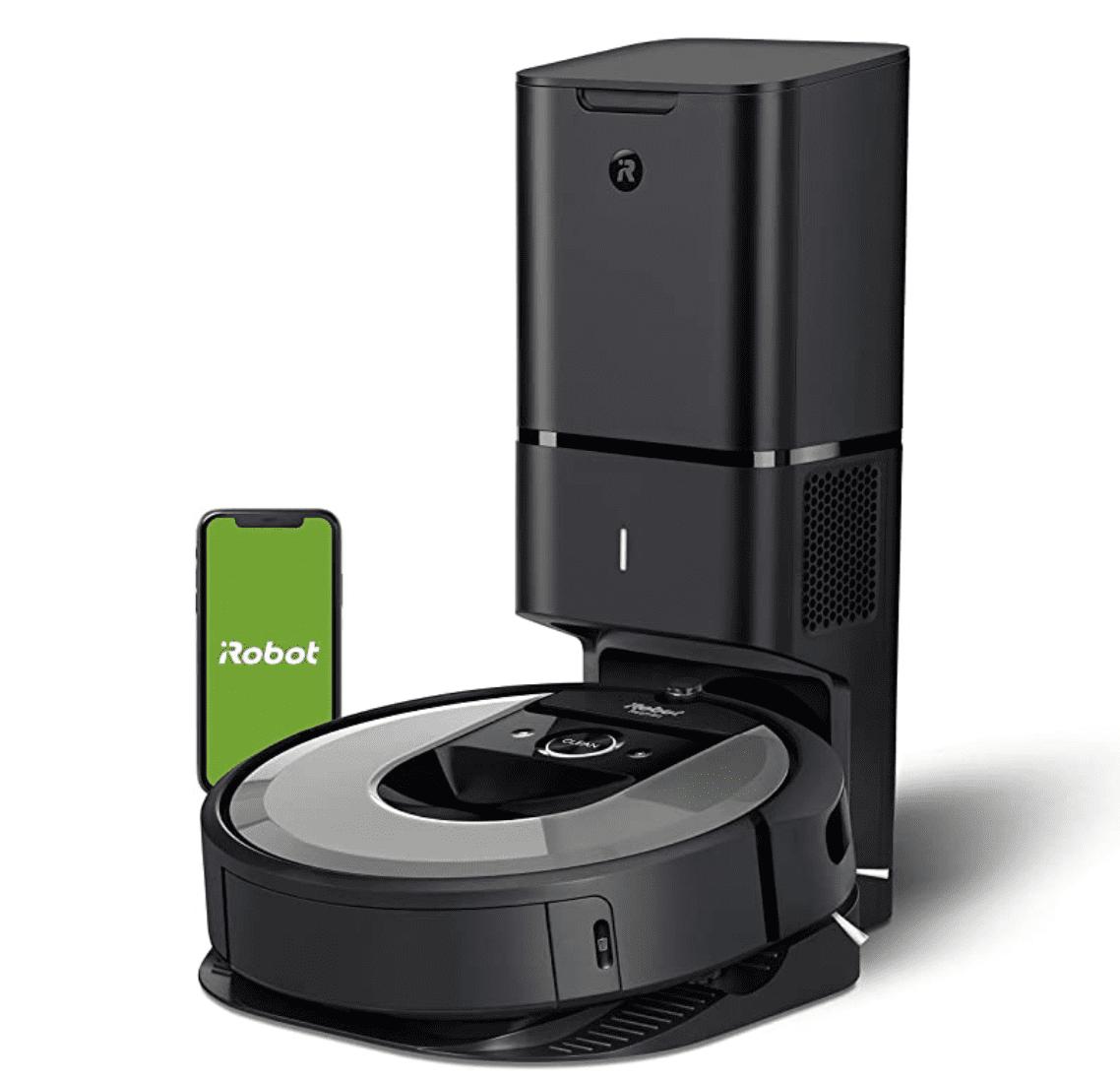 Amazon: iRobot Roomba i6+ Robot Vacuum for 9.99