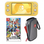 Nintendo With Lite Console & Super Smash Bros for 9.99