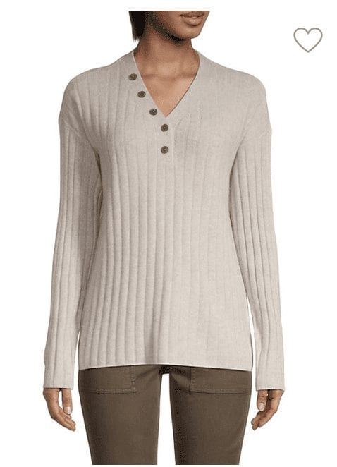Saks OFF 5TH: Cashmere Sweater for .99