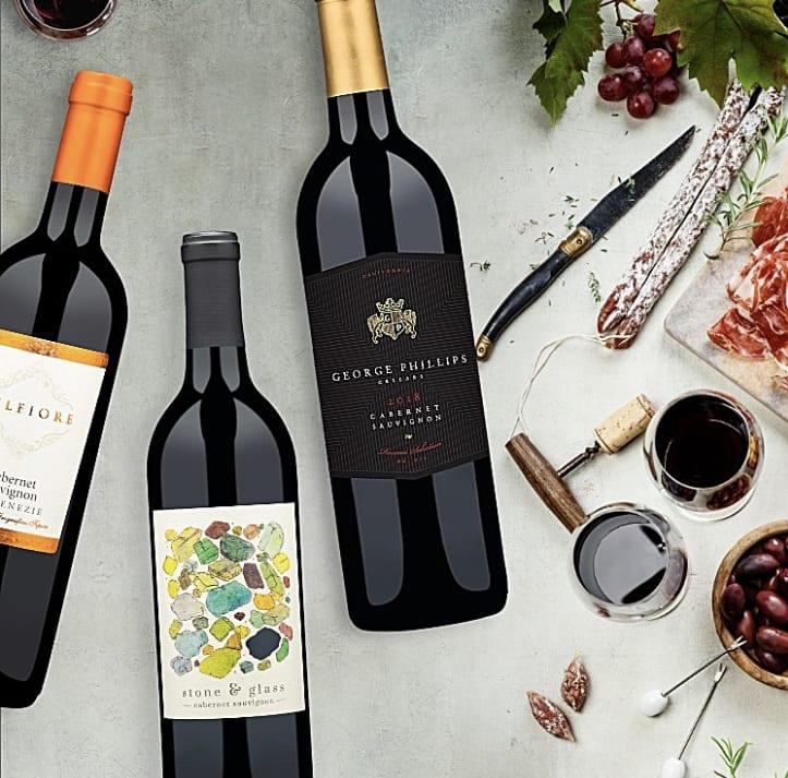 Wine Insiders: 6 bottles of Cabernet Sauvignon for .8