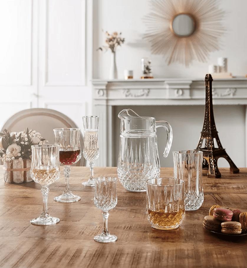 Macy's: Longchamp Wine Glasses on sale