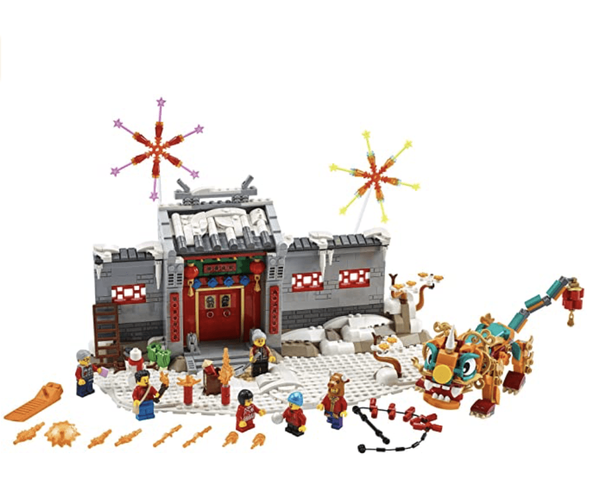 Amazon: LEGO Story of Nian 80106 Building Kit for .99