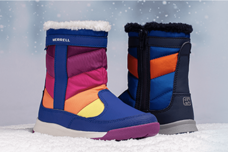 Stride Rite: Extra 40% off on Merrell Boots.