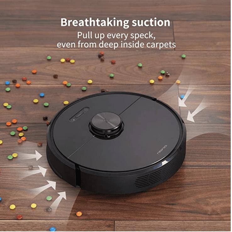 Amazon: Roborock S6 Robot Vacuum for 9.99