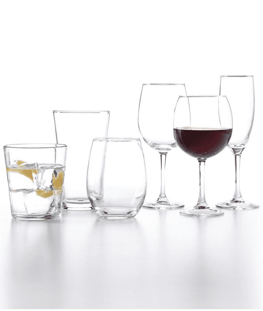 Macy's: Martha Stewart Glassware Collection .99
