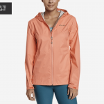 Eddie Bauer: Cloud Cap Rain Jacket for .99