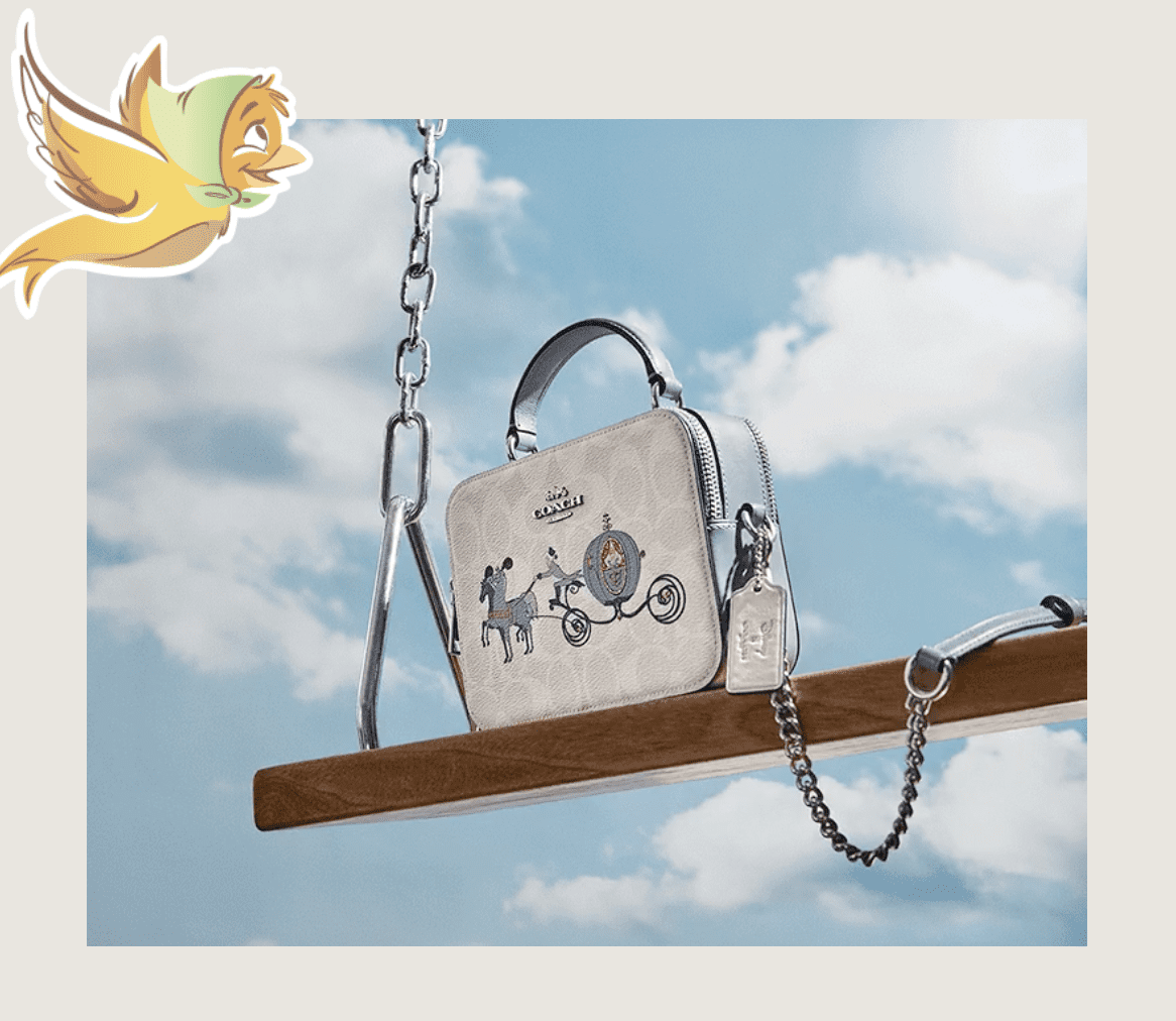 Coach Outlet: Disney x Coach new styles launched