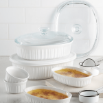 Macy's: Corningware French White 10-Pc. Bakeware Set .99