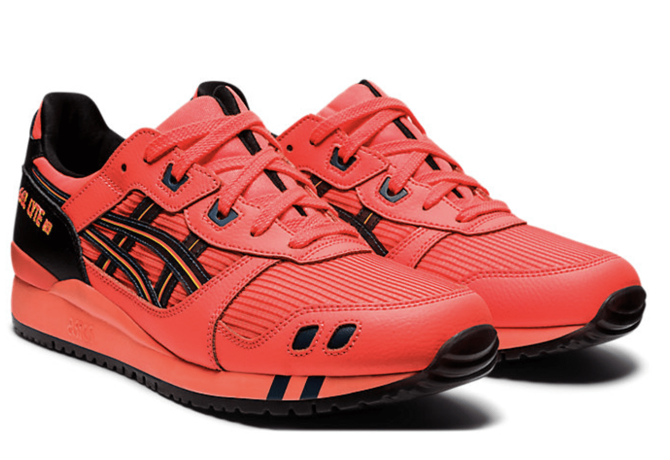 Asics: 20% off select new Gel-Lyte III Styles.