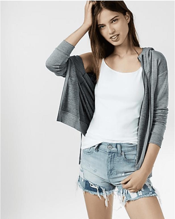 Express:  women's Top &  Men's shirts