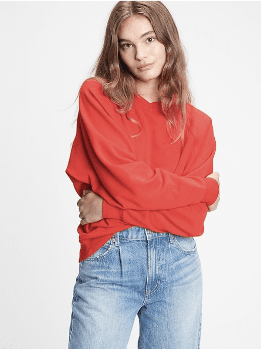 GAP: warehouse event! Up to 75% off.