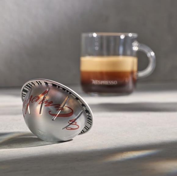 Nespresso:  off  Coffee capsule