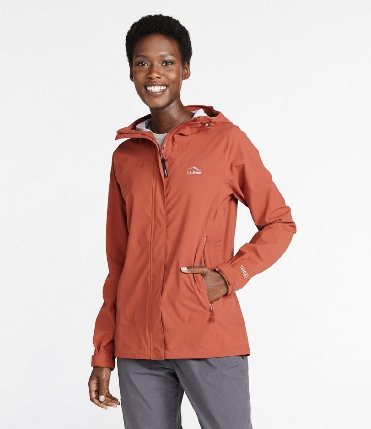 L.L.Bean: Women's Cresta Stretch Rain Jacket for .99