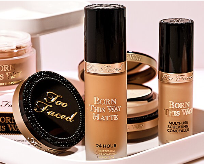 Gilt:  off + Free Mini-size Gift Too Faced Voucher