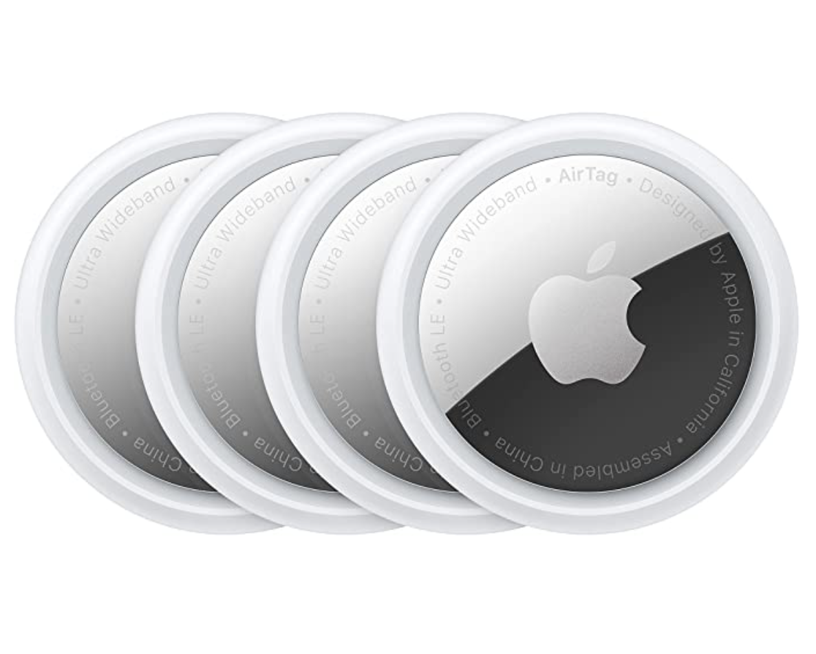 Amazon: 4-Count Apple AirTag for .27