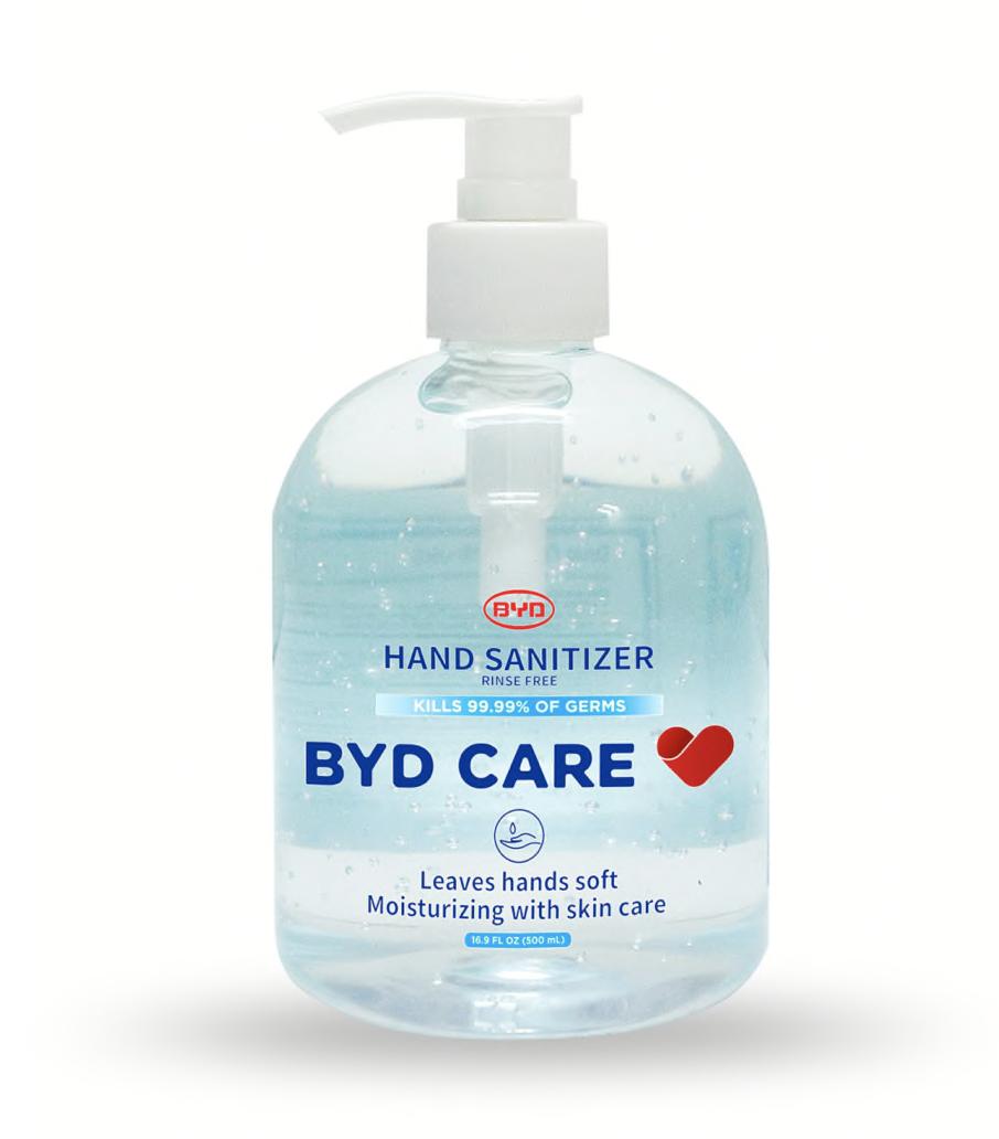 Office Depot:BYD Moisturizing Hand Sanitizer for 10¢
