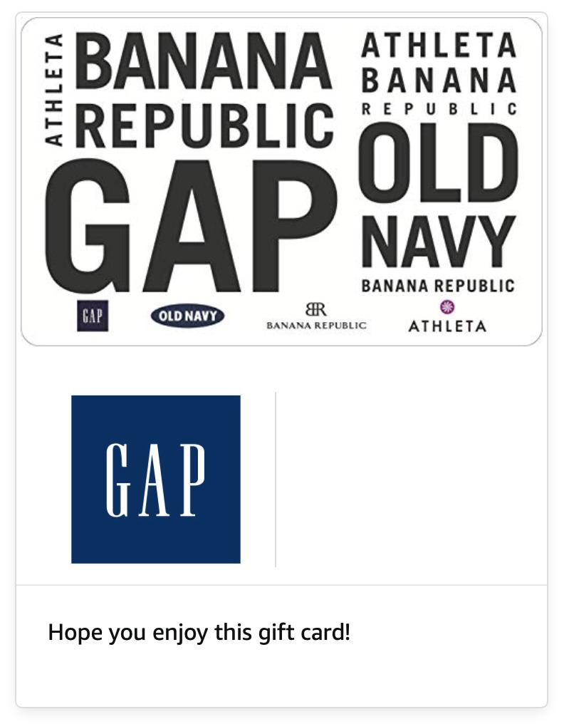 Amazon: Select Gift Card on sale.