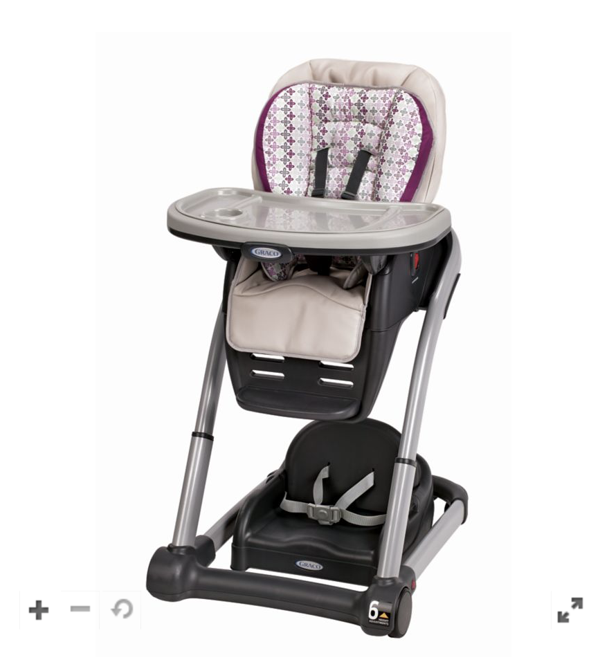 Graco: Blossom™ 6-in-1 Convertible High Chair 9.99