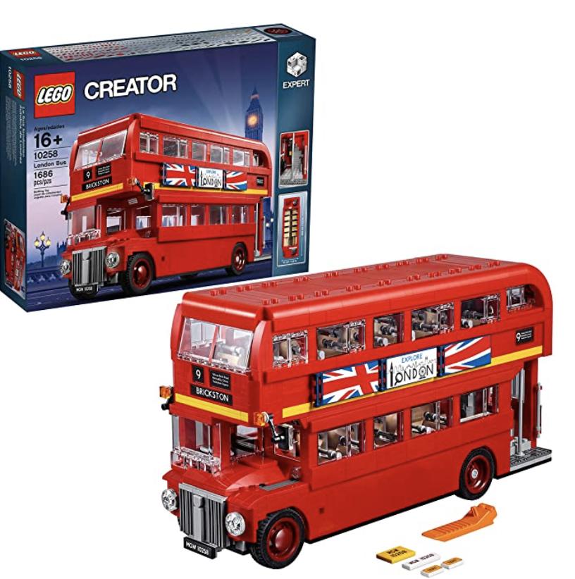 Amazon: LEGO Creator Expert London Bus for .95