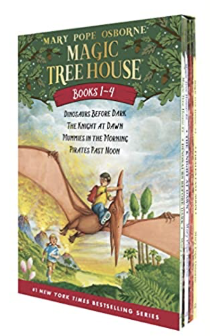 Amazon: Magic Tree House Boxed, Book 1-4