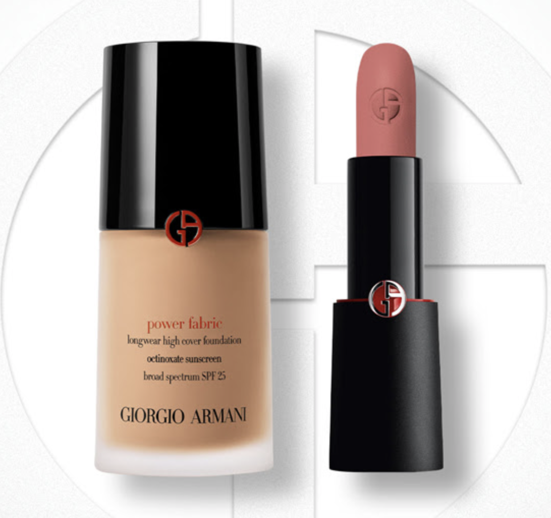 Armani Beauty: up to 50% off select beauty items