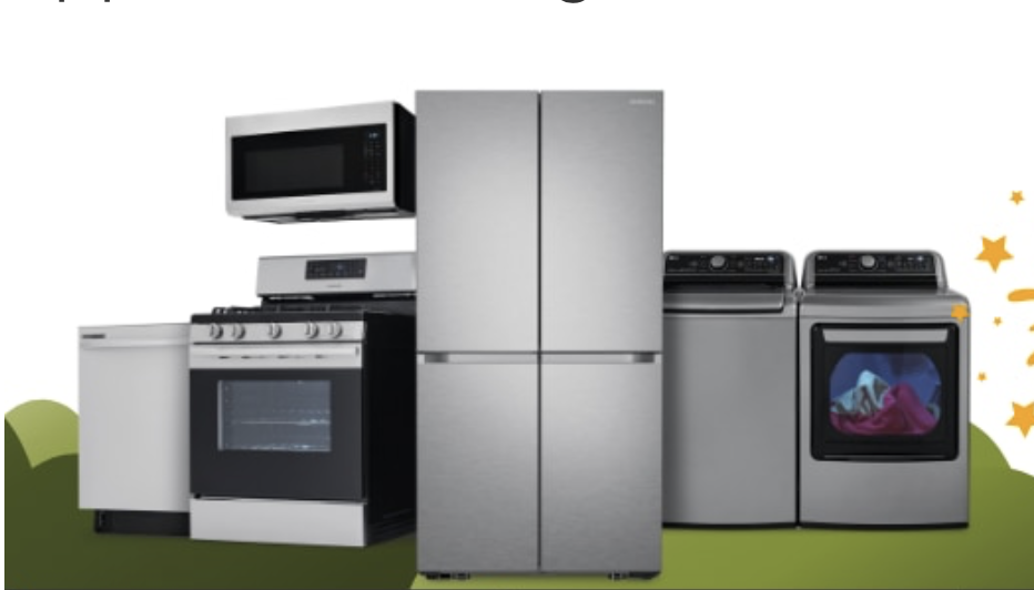Home Depot: July 4th appliances on sale.