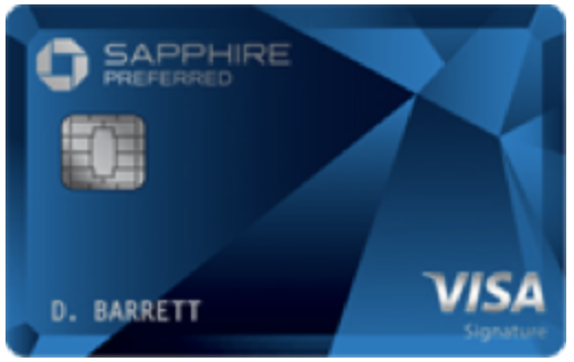 Chase Sapphire Preferred Card: 100000 bonus points
