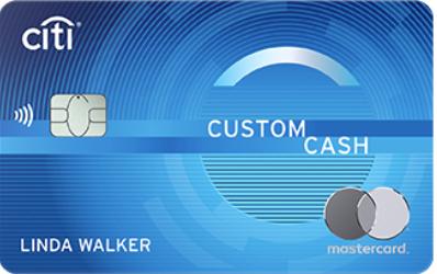 Citi Custom Cash Card 花旗银行返现卡