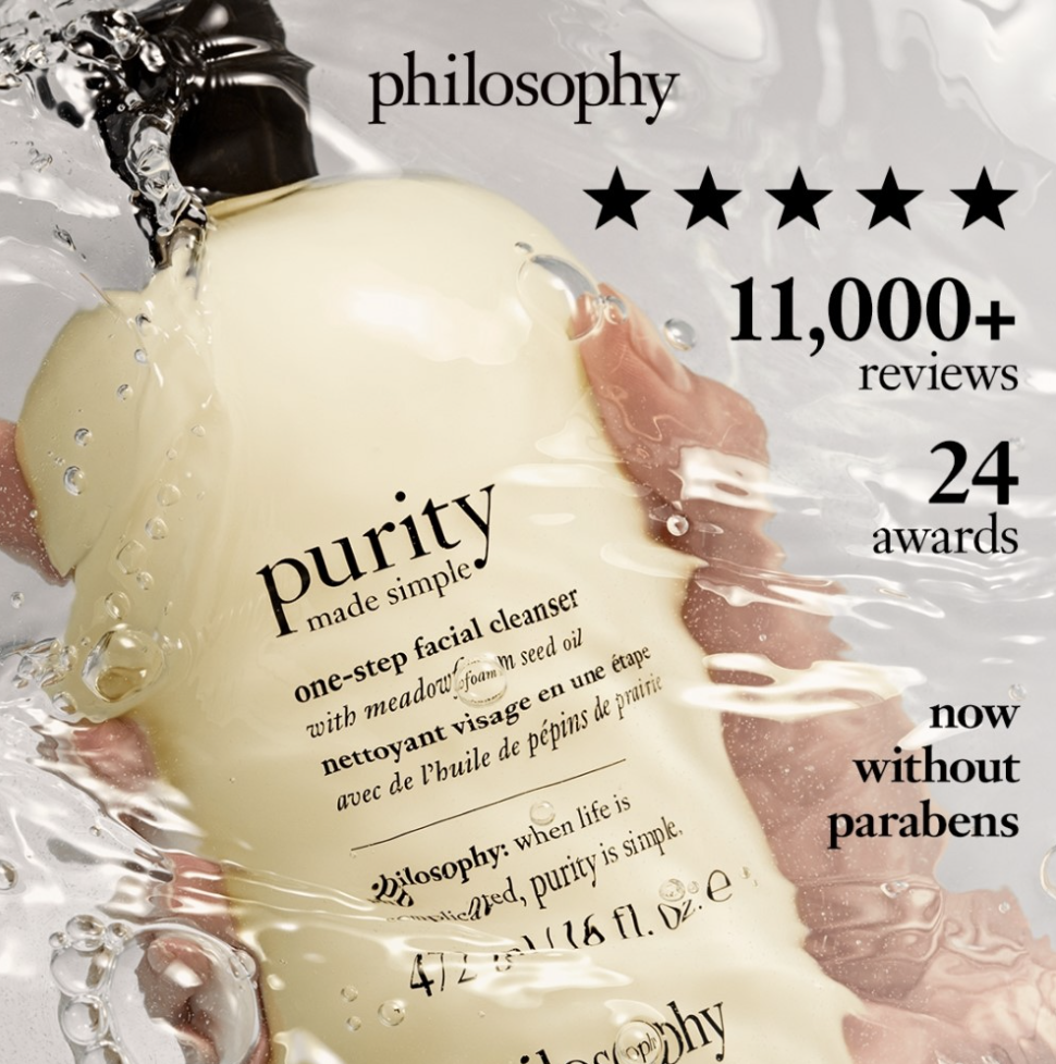 Philosophy: 35% off sitewide