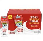 ISEXCERPT:Horizon Organic 软包装小牛奶折扣好价!