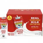 Amazon: Horizon Organic Milk Box on sale