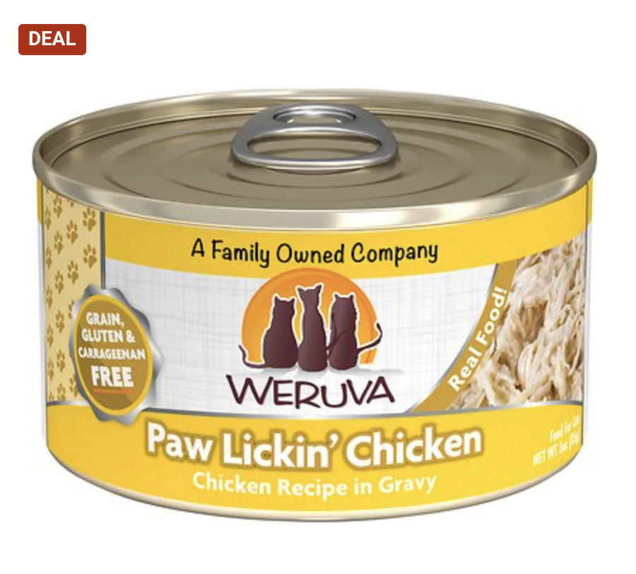 Chewy: Cat food on sale
