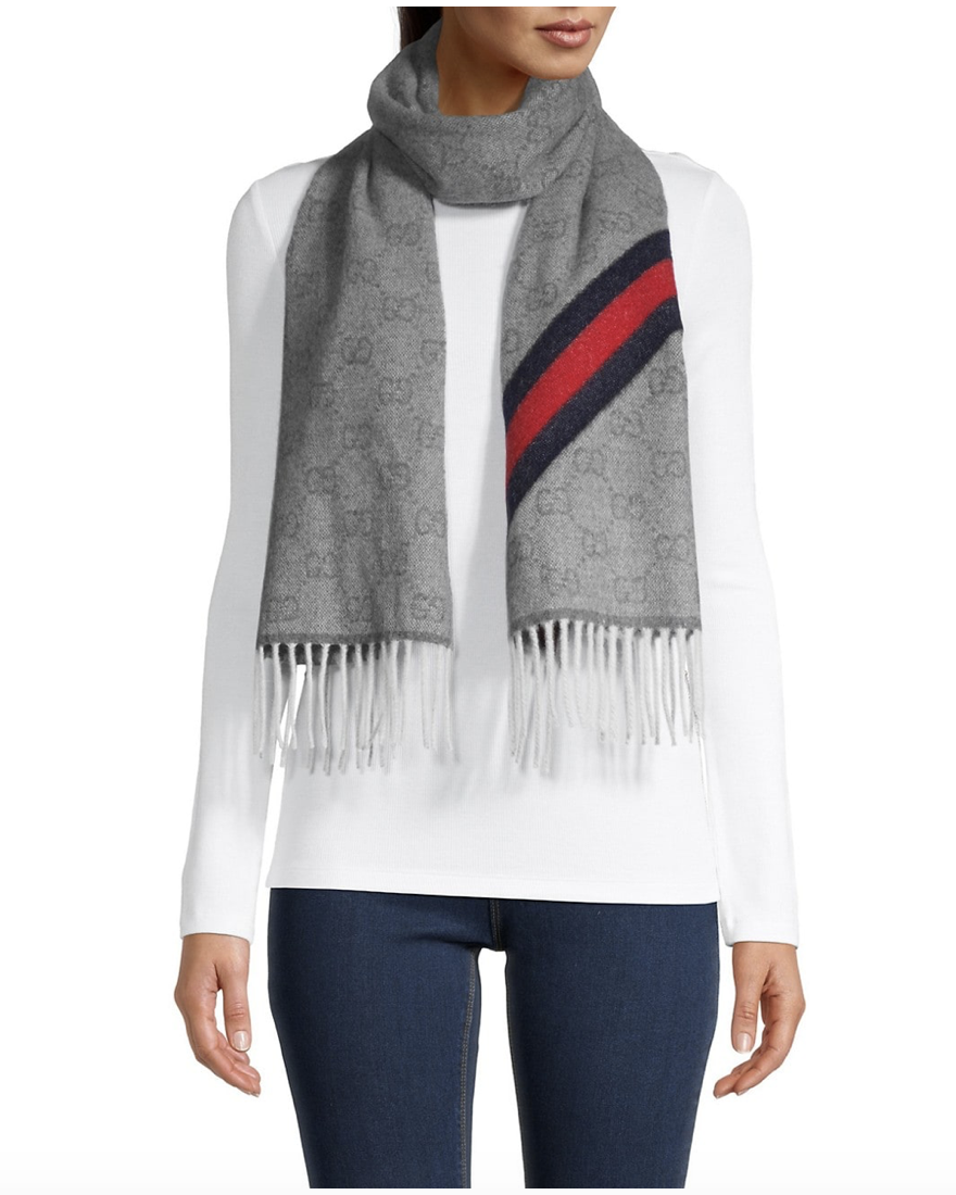 Saks OFF 5TH: Up to 50% off Gucci Scarves