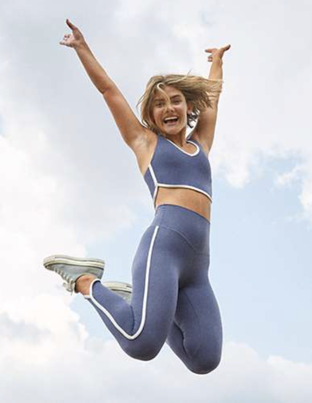Aerie: 40% off all leggings and bike shorts