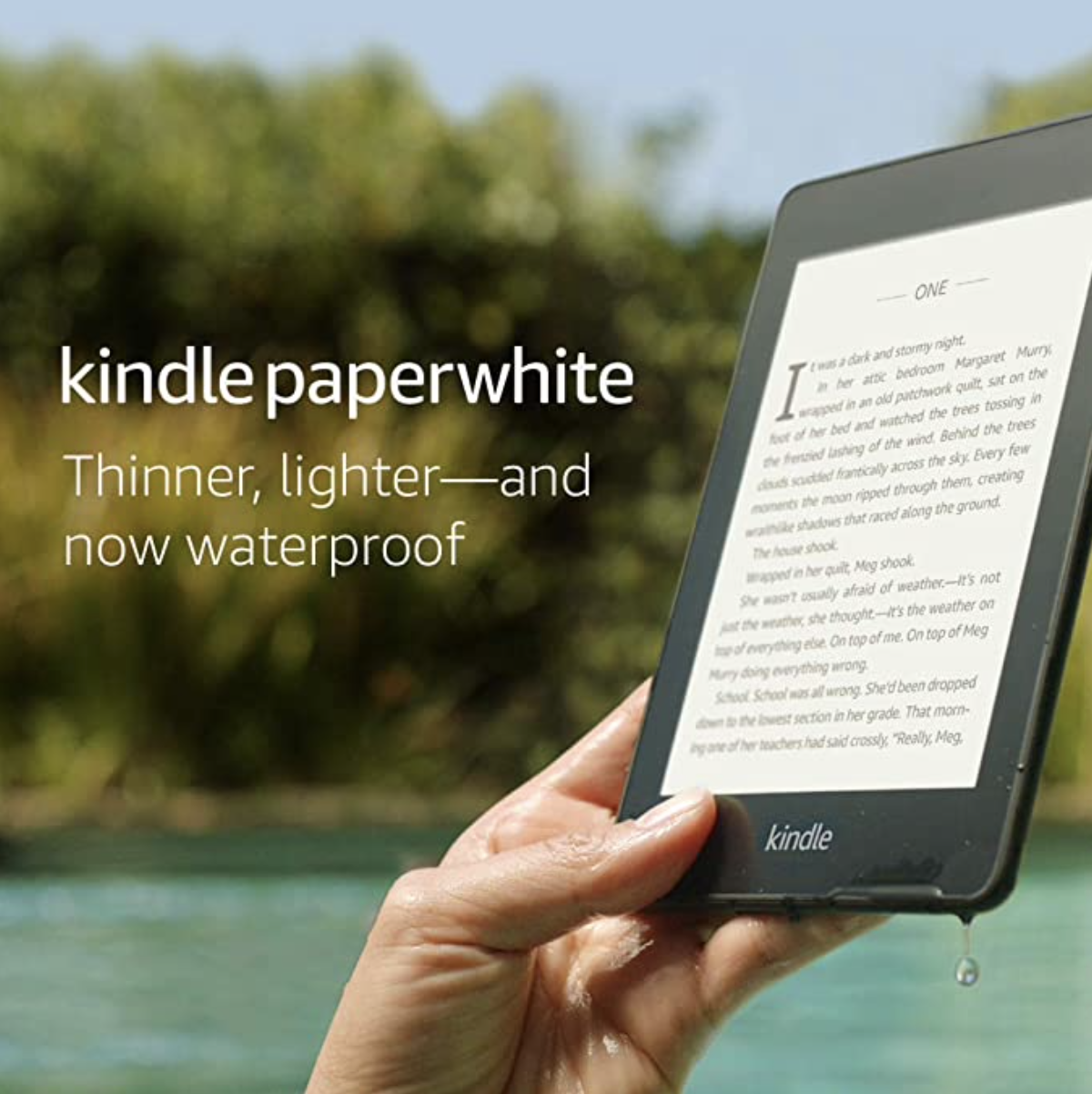 Amazon: Kindle Paperwhite 8GB for .99