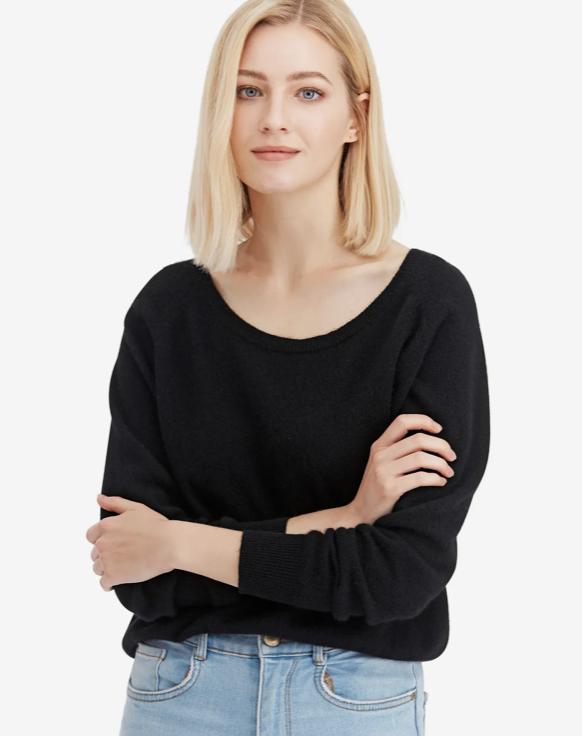 Lilysilk: Cashmere sweater + BOGO 30% off.