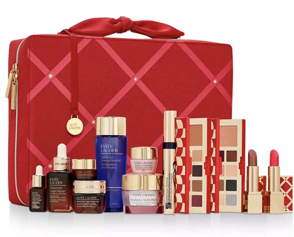 Estee Lauder: 29 Beauty Essentials & More in Holiday Set