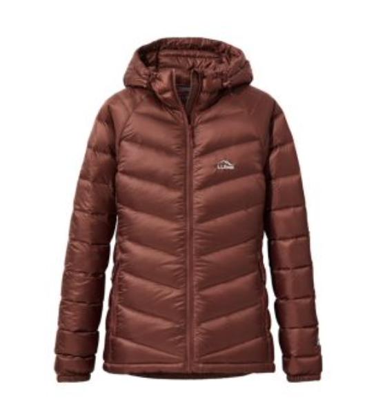L.L.Bean: Women's Ultralight 850 Down Hooded jacket for 9