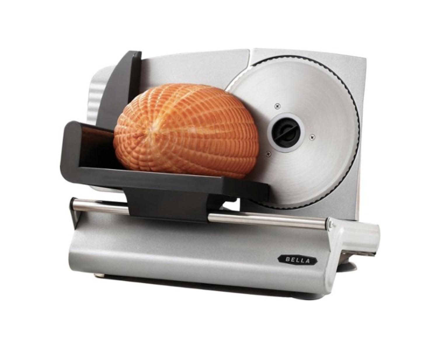Best Buy: Bella Electric food slicer for .99